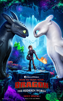 How To Train Your Dragon: The Hidden World show timings